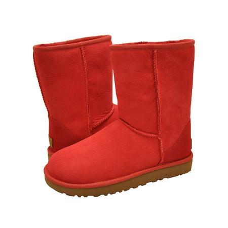 d3b822951fe UGG Classic Short II Women's Shoes Boot 1016223 Ribbon Red