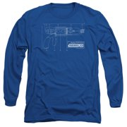 Warehouse 13 Tesla Gun Mens Long Sleeve Shirt
