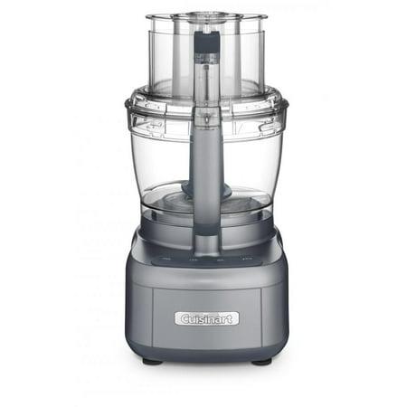 Cuisinart Elemental 13 Cup Food Processor with Dicing, Dark Gray