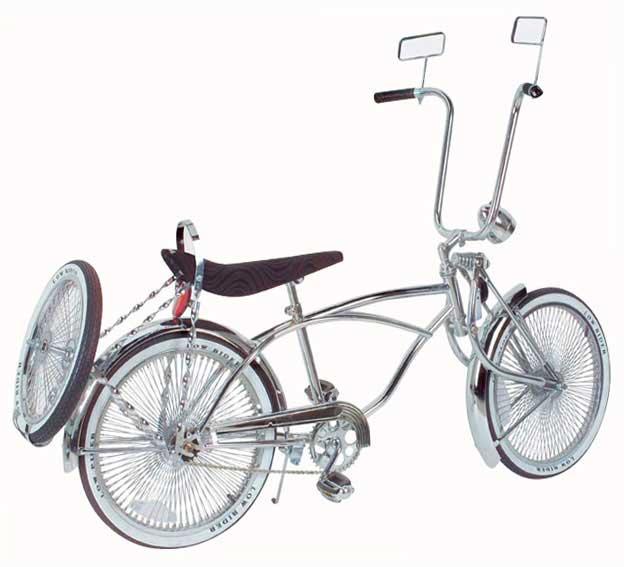 LOWRIDER BIKE BICYCLE Single Twisted Bolt Cover Chrome Cruiser Show Bike