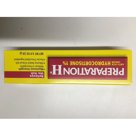 Prep H 1% Hydrcrtzne Size .9z, Preparation H Hydrocortisone provides Maximum Strength itch relief without a prescription for relief of external anal itch By Preparation (Best Medicine For Body Itching)