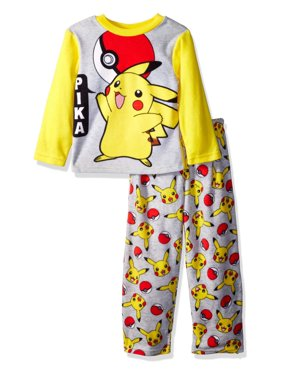 38103ec872af Product Image Pokémon Boys  Pikachu 2-Piece Fleece Pajama Set