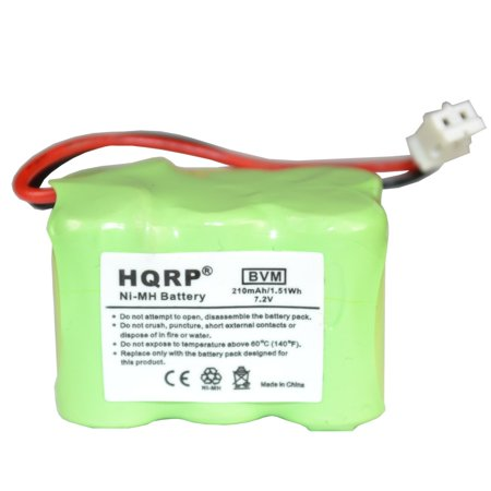 HQRP Battery for SportDOG SDT00-11911, 650-104, DC-23, KINETIC MH250AAAN6HC Sport DOG Remote Training Transmitter Replacement + Coaster - image 1 de 3
