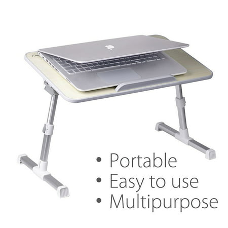 Avantree Minitable Quality Adjustable Laptop Bed Tray, Portable Standing Desk, Foldable Sofa...