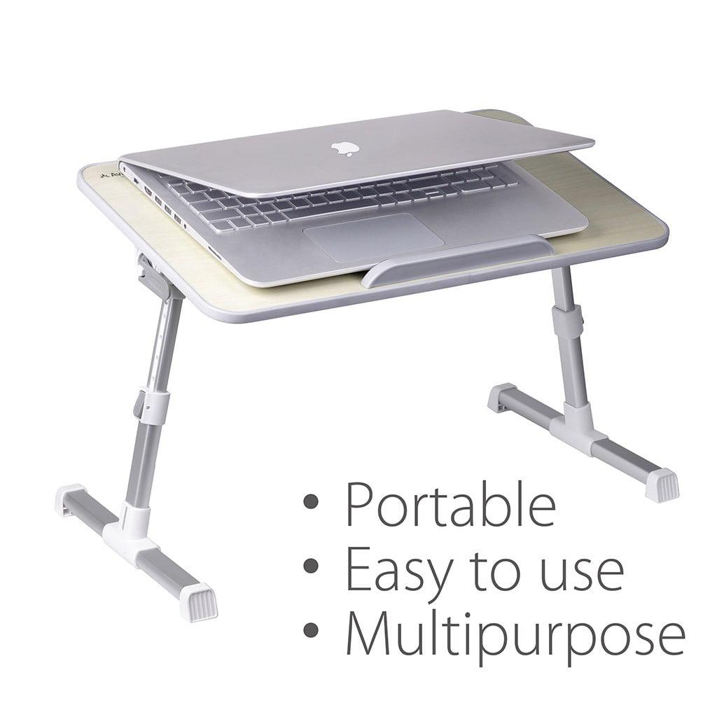 Avantree Minitable Quality Adjustable Laptop Bed Tray Portable