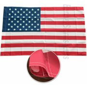3x5 USA American United States Flag Pole Sleeve Sleeved Polyester Printed 3'x5'