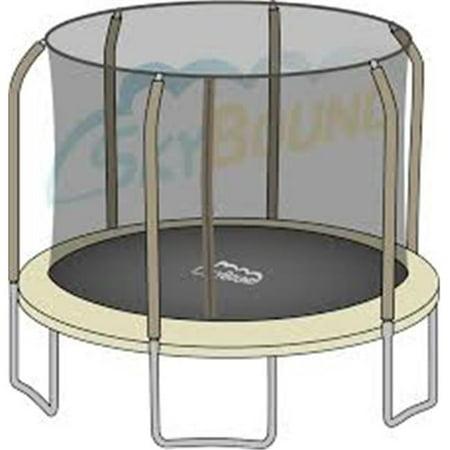 Bazoongi JK1505-ECP Enclosure Curve Pole for Trampoline - image 1 of 1