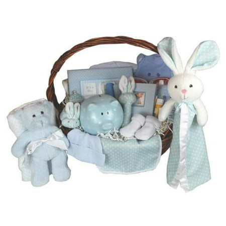 Baby Gift Idea BIGBASKB Bountiful Beginnings Baby Basket