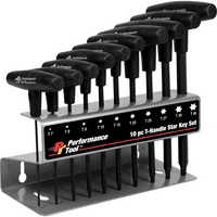 10 Piece T-Handle Torx Set