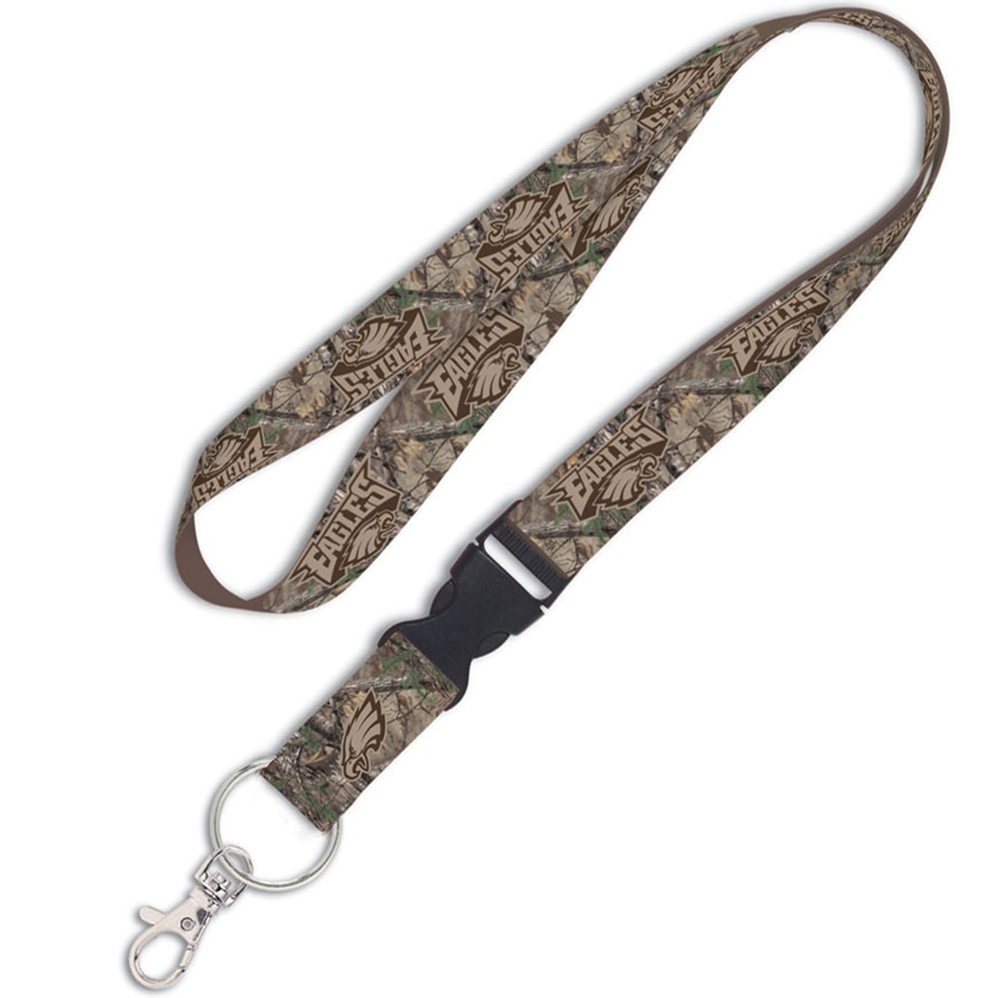 Philadelphia Eagles WinCraft Camo Lanyard with Detachable Buckle - No Size