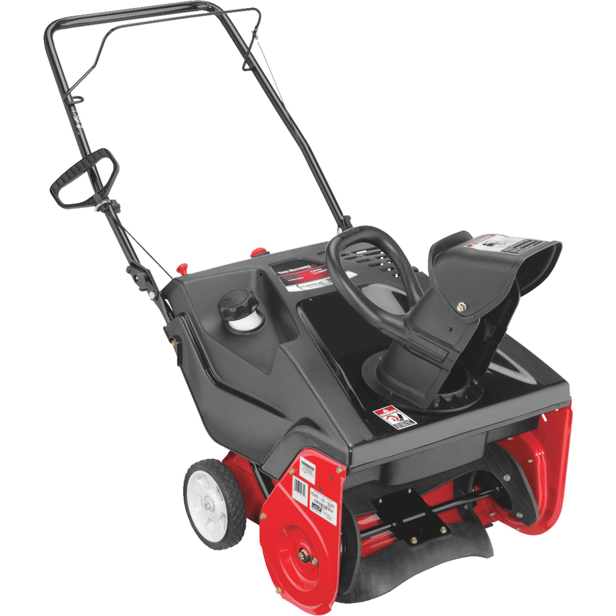 Yard Machines Single Stage Snow Blower
