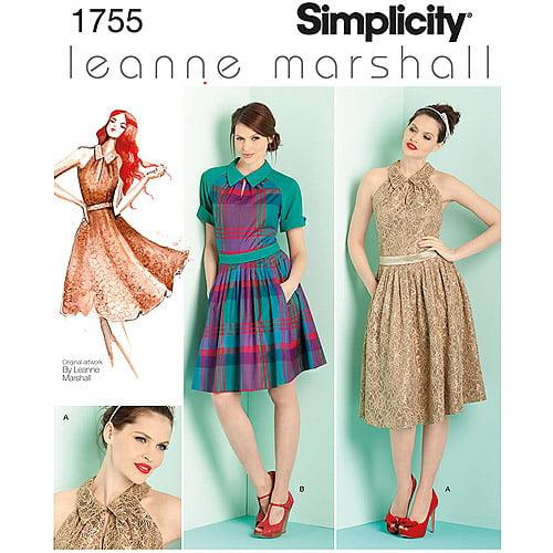 Misses & Miss Petite Dresses Leanne Marshall Collection-4-6-8-10-1