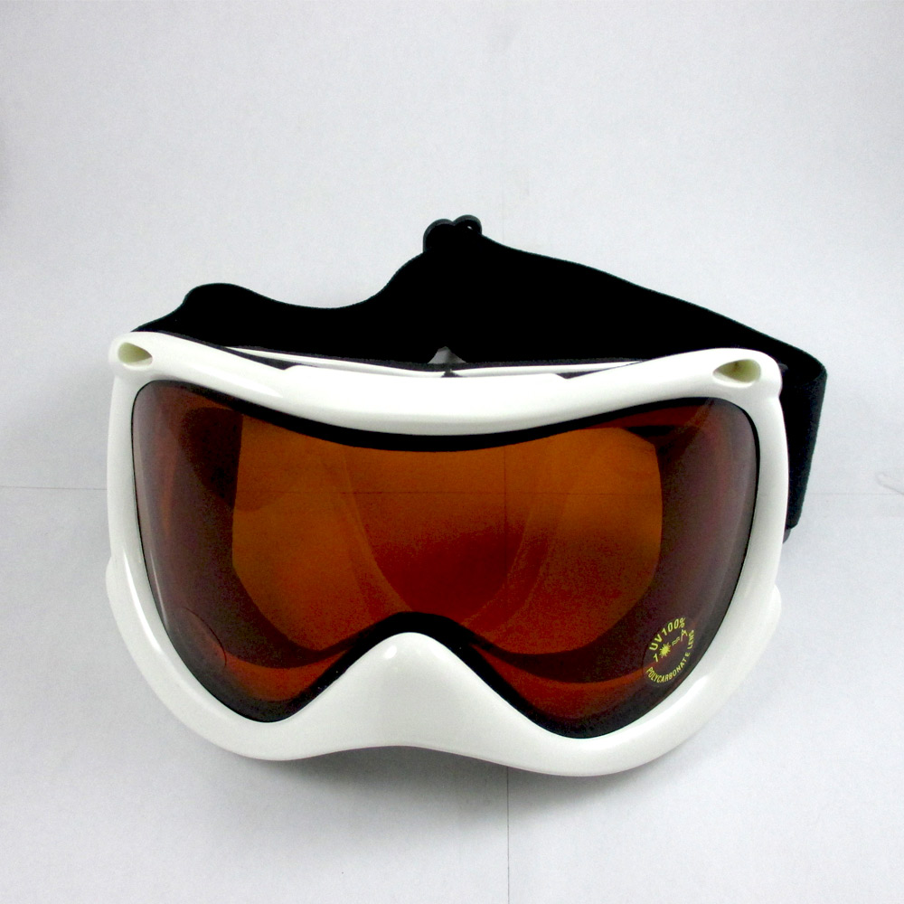 White Ski Snowboard Snowmobile Glasses Snow Ski Goggles Sport Eyewear Unisex by Asia Pacific
