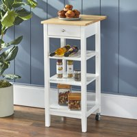 Mainstays Small Space Kitchen Cart