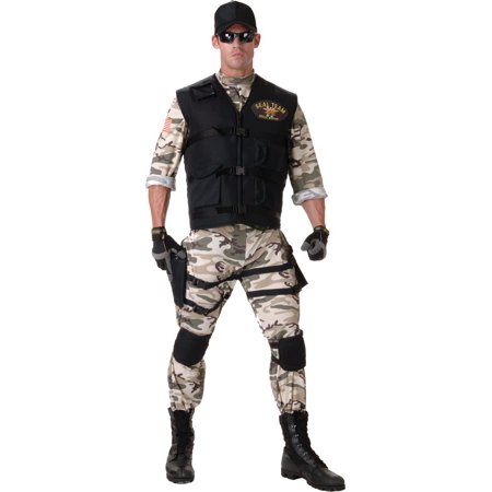 Seal Team Military Costume - Seal Costume Adults