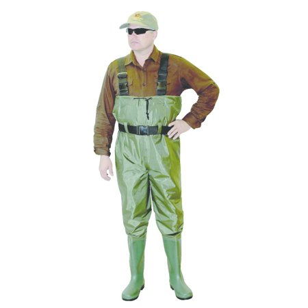 Caddis Pvc Chest Wader Ultra Lite Green Sz13 (Bark River Ultra Lite Bushcrafter For Sale)