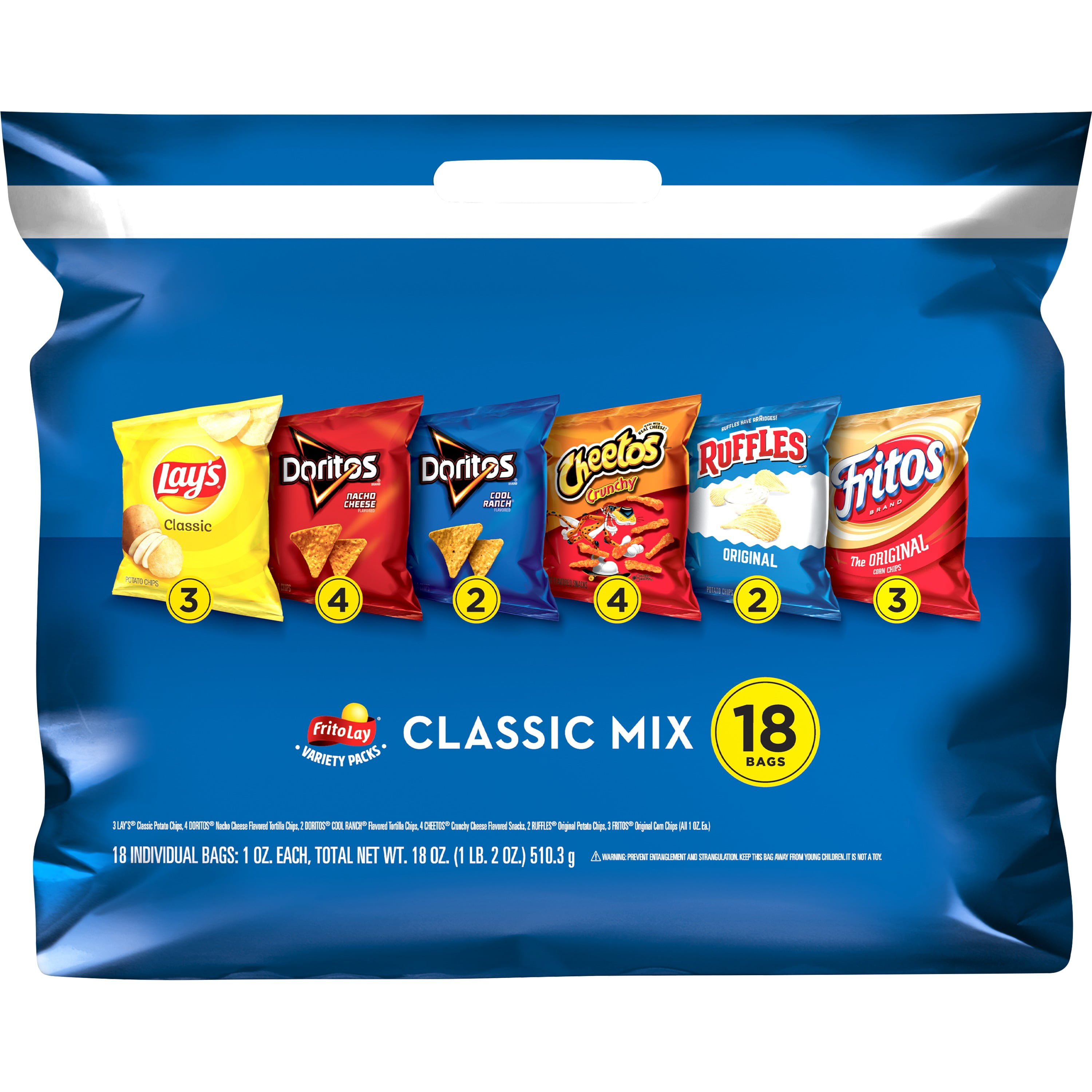 Chip Bag Covers 18 Count