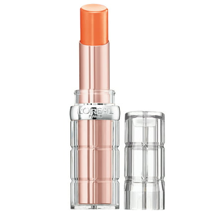 L'Oreal Paris Colour Riche Plump and Shine Lipstick, Sheer Lipstick, Nectarine (L Oreal Colour Riche Le Gloss Raspberry Splash)
