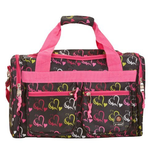 Rockland Luggage 19 in. Duffle Bag - Heart