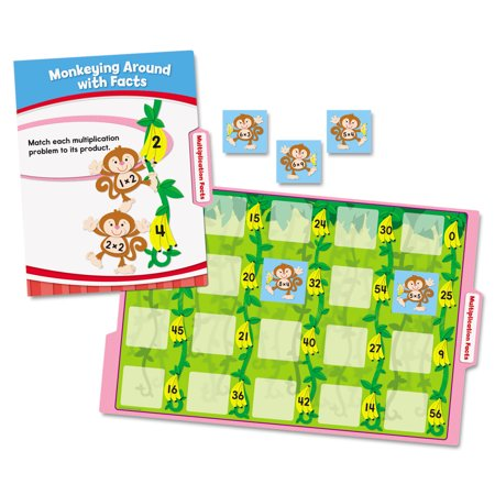 Carson-Dellosa Publishing CenterSOLUTIONS Math File Folder Games, Grade 3](Folder Games)