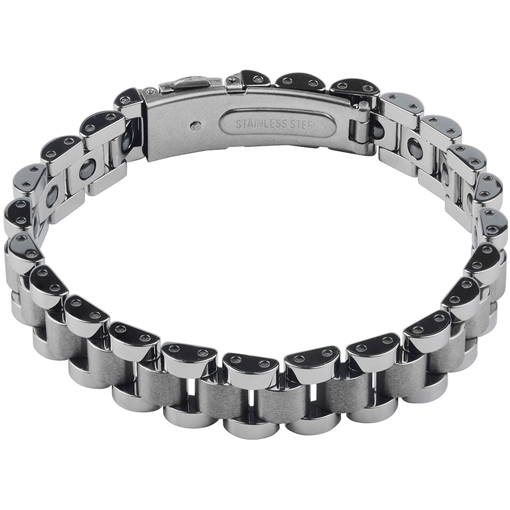 Daxx Men's Tungsten ID Link Fashion Bracelet, 9""