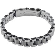 Men's Tungsten ID Link Fashion Bracelet, 9