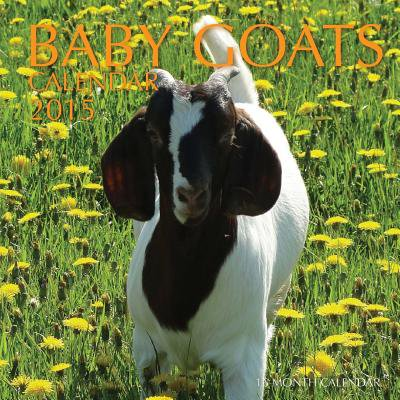 Baby Goats Calendar 2015 : 16 Month Calendar