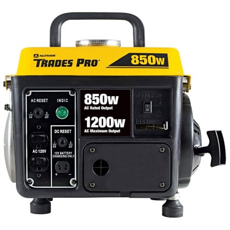 Trades Pro 838014 850/1200 Watt 2 Stroke Portable Generator