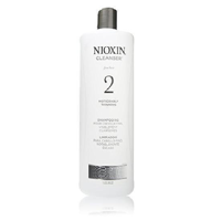 Nioxin Cleanser System 2 Fine Noticeably Thinning Hair Shampoo 33.8 Ounce