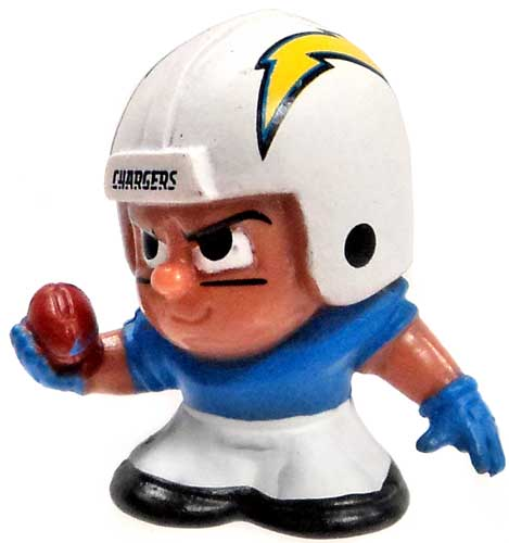 TeenyMates NFL Wide Receivers Series 3 San Diego Chargers Minifigure