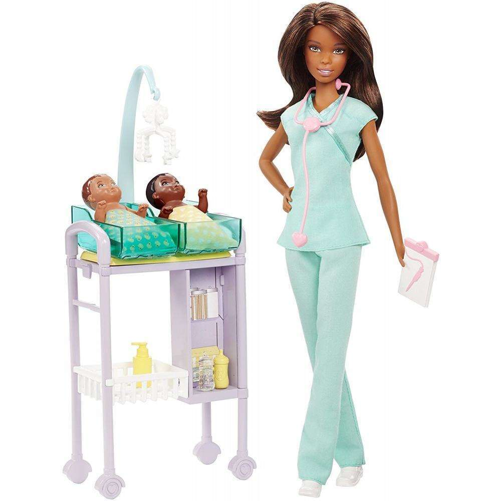 Barbie Careers Baby Doctor Nikki Doll and Playset by MATTEL INC.