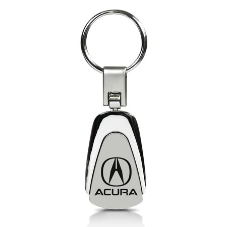 Auto Gold KC3.ACU Key Chain Acura; Teardrop; Chrome; Stainless Steel