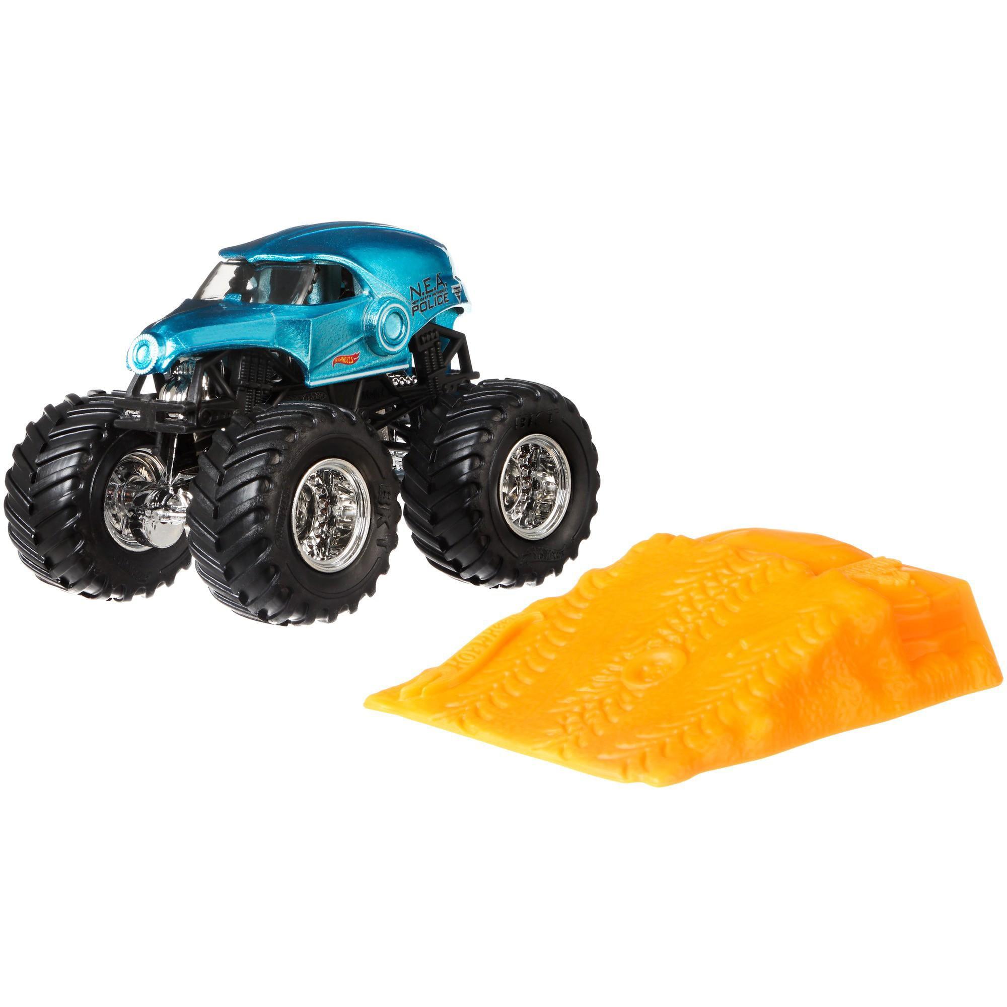 Hot Wheels Monster Jam N.E.A. Police Vehicle by Mattel