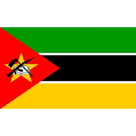 Country Flag Banners (3x5 Mozambique Flag African Country Banner Republic)