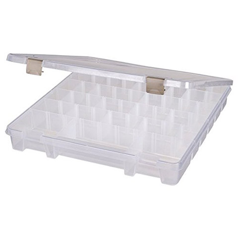 ArtBin Plastic Storage Box: Clear, 15.25 x 14 inches