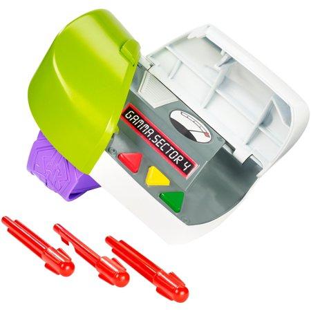 Disney Pixar Toy Story Buzz Lightyear Wrist Communicator with (Buzz Bee Toys Bolt Action Rangemaster Rifle)