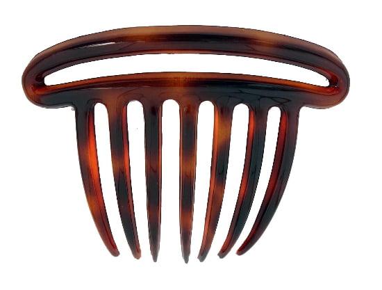 Tortoise Shell Caravan French Three Piece Twist Comb