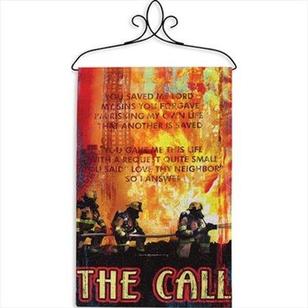 The Call I Fine Art Tapestry - A - H 26 x W 17 - image 1 de 1