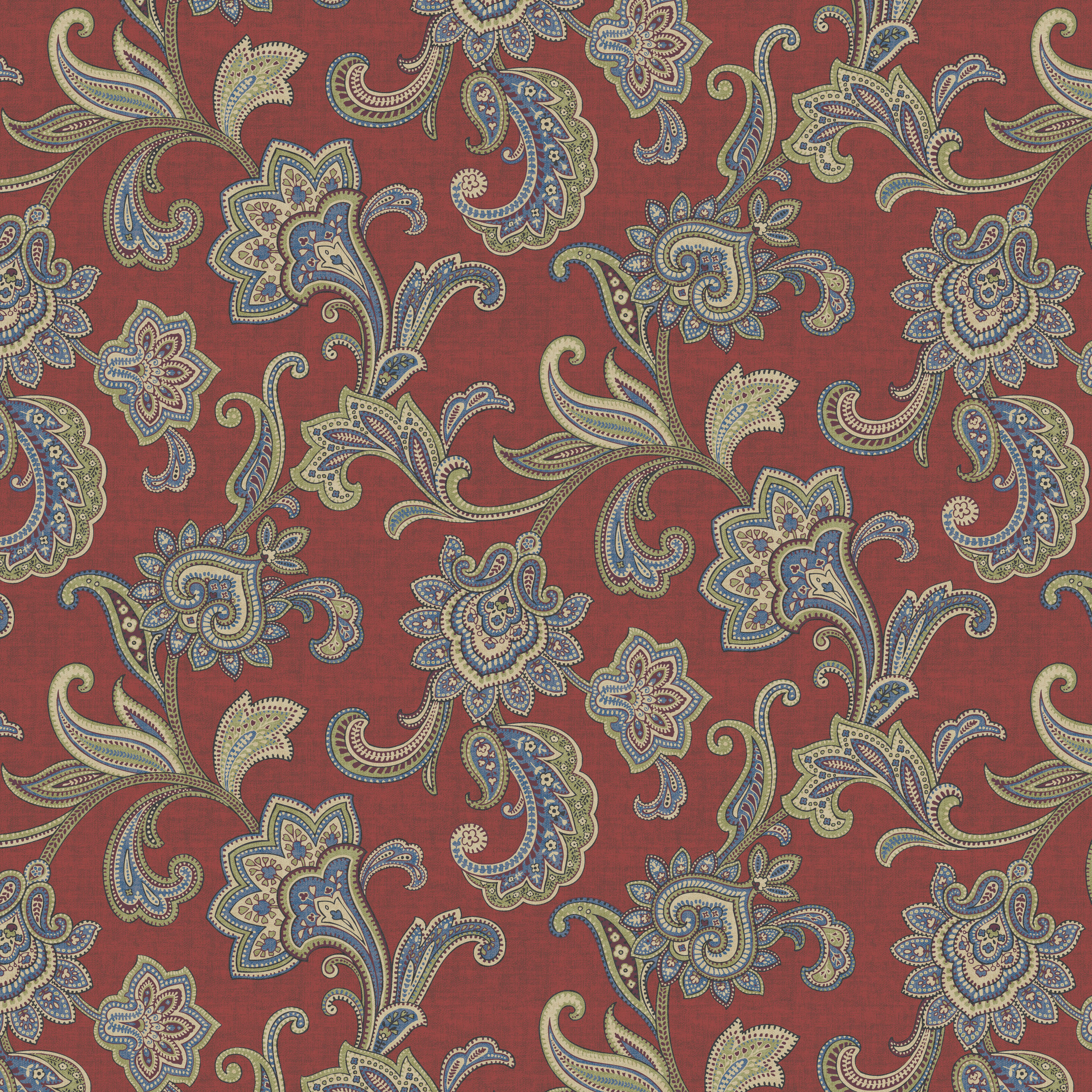 "Waverly Inspirations Cotton Duck 45"" Fabric, per Yard"