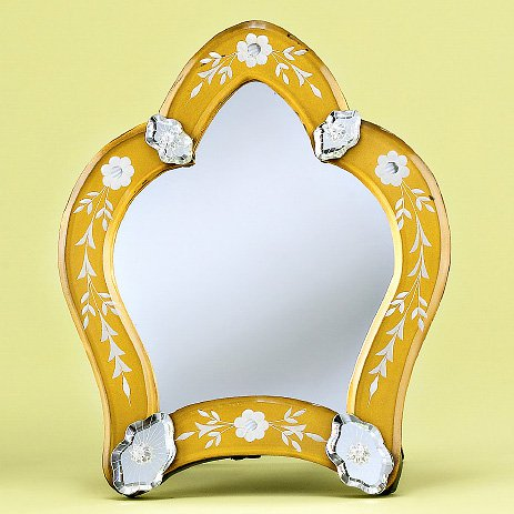 Medium Trinidad Venetian Tabletop Mirror - 8.7W x 10.6H in.