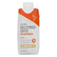 Bulletproof Cold Brew Coffee Collagen Protein Vanilla Latte, 11.1 FL OZ