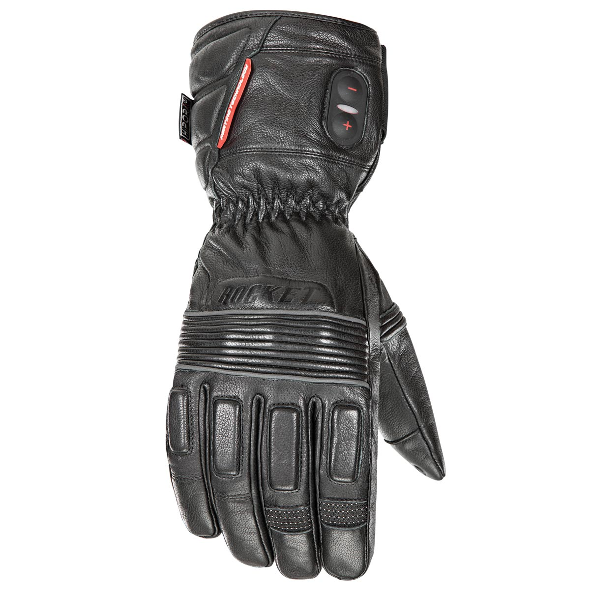 HJC Rocket Burner Mens Heated Leather Gloves
