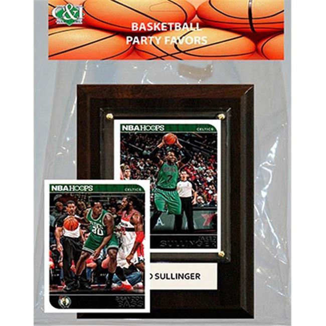 Candlcollectables 46LBCELTICS NBA Boston Celtics- Party Favor With 4 x 6 Plaque