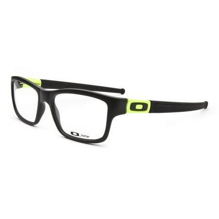 Oakley OX8034-0553 Marshal Men's Black Frame Clear Lens Genuine Eyeglasses NWT