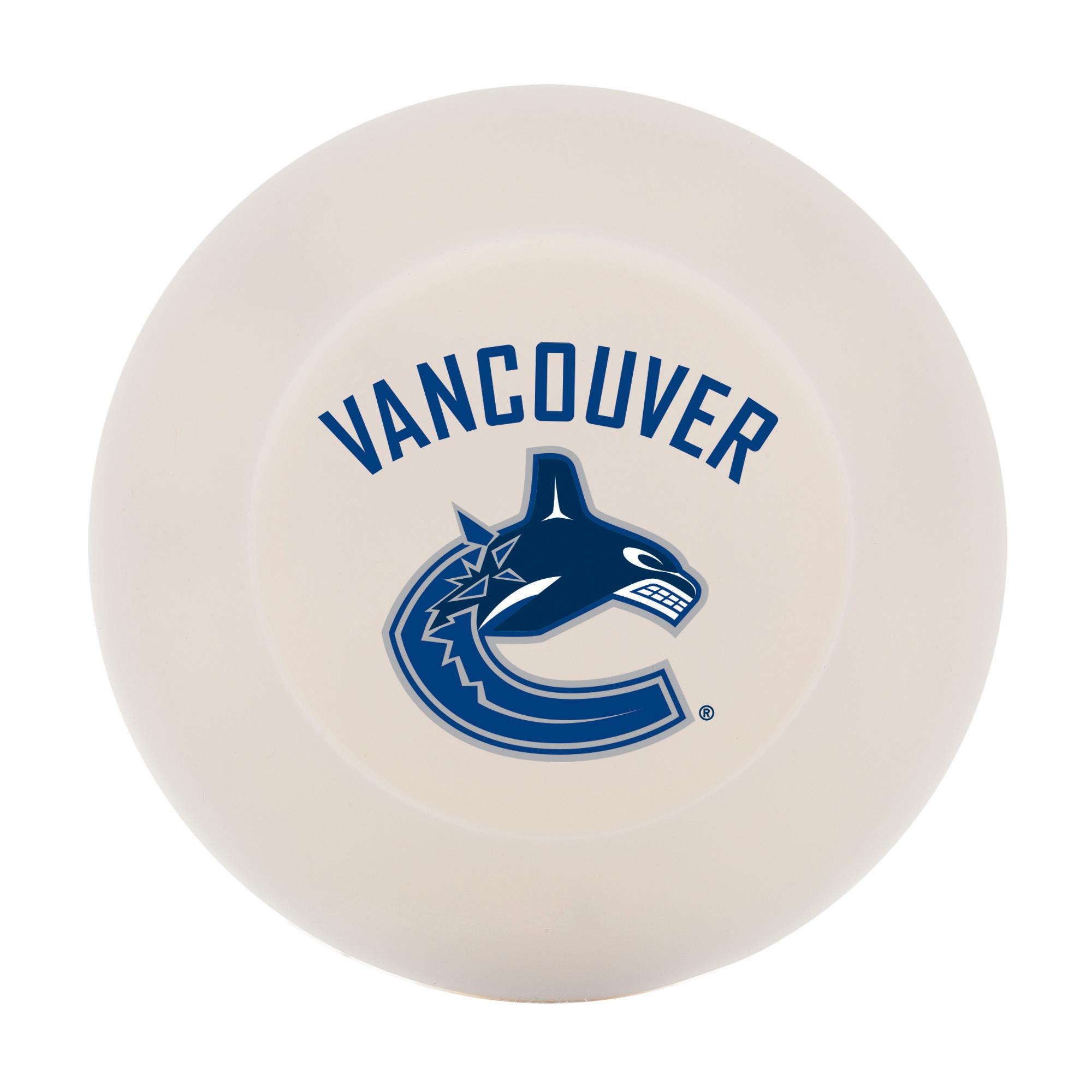 Franklin Sports NHL Vancouver Canucks Street Hockey Puck