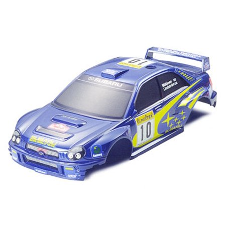Tamiya R/C Mini 4WD Subaru Impreza WRC 2002 Boby Parts Plastic - Boba Shop For Sale