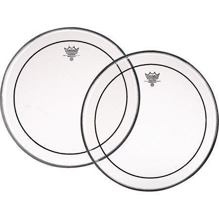 - Remo Marching Pinstripe Pro Pack with Free 10 in. Clear Pinstripe Drum Head Clear 6, 8, 10, 12, 13