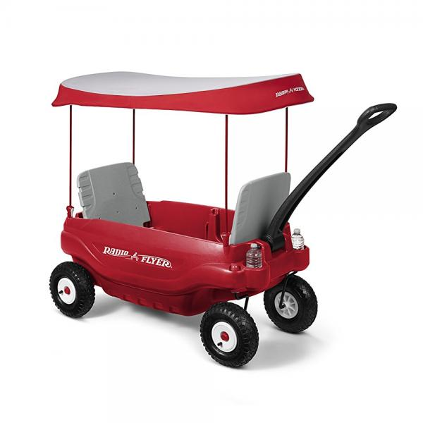 Radio Flyer Deluxe All-Terrain Family Wagon Ride On, Red by Radio Flyer Inc.