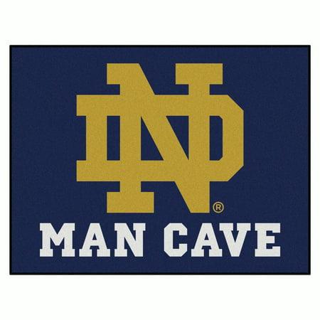 Notre Dame Man Cave All-Star Mat - Notre Dame Carpet