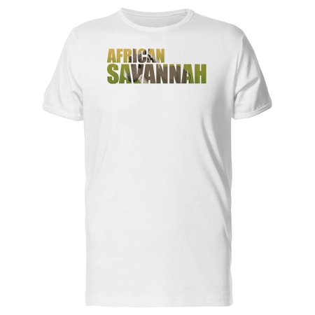 African Savannah And Warthog Tee Men's -Image by Shutterstock